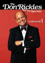 DVD Cover for Don Rickles TV Specials: Volume 1