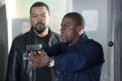 Ice Cube and Kevin Hart team up for the smash 2014 comedy Ride Along.