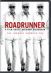 Roadrunner: A Film About Anthony Bourdain DVD Cover