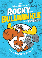 The Adventures of Rocky and Bullwinkle and Friends: The Complete Series Cover