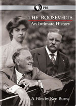 DVD Cover for The Roosevelts: An Intimate History