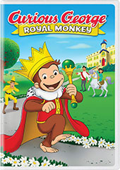 Curious George: Royal Monkey DVD Cover