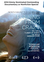 DVD Cover for Running From Crazy