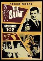 DVD Cover for The Saint Season 1 and 2
