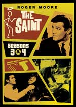 DVD Cover for The Saint: Seasons 3 & 4