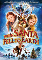 DVD Cover for When Santa Fell to Earth