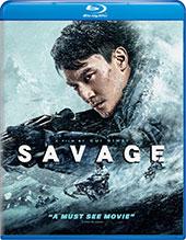 Savage Blu-Ray Cover