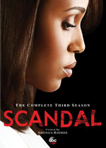 DVD Cover for Scandal: The Complete Third Season