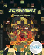 Scanners Criterion Collection Blu-Ray Cover