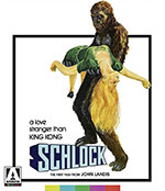 Schlock Blu-Ray Cover