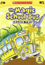 DVD Cover for The Magic School Bus: Season Two