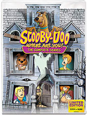 Scooby-Doo, Where are You!: The Complete Series Limited Edition 50th Anniversary Mystery Mansion Cover