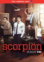 DVD Cover for Scorpion: Season 1