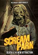 DVD Cover for Scream Park