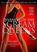 DVD Cover for Invasion of the Scream Queens