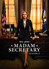 Madam Secretary: Season Five DVD Cover
