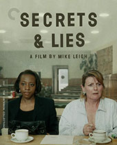 Secrets & Lies Criterion Collection Blu-Ray Cover
