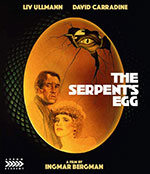 The Serpent's Egg Blu-Ray Cover