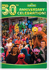 Sesame Street: 50th Anniversary Collection DVD Cover