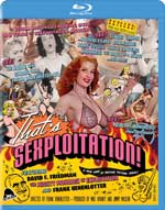 That's Sexploitation! Blu-Ray Cover