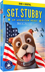 Sgt. Stubby: An American Hero DVD Cover