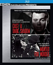 Wanted for Murder / Cast a Dark Shadow Blu-Ray Cover
