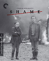 Shame Criterion Collection Blu-Ray Cover