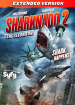 DVD Cover for Sharknado 2: The Second One