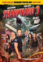 DVD Cover for Sharknado 3: Oh Hell No!