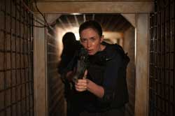 Emily Blunt takes point in the top action film of 2015, Sicario.