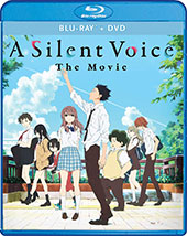 A Silent Voice Blu-Ray Cover