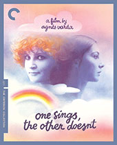 One Sings, the Other Doesn't Criterion Collection Blu-Ray Cover