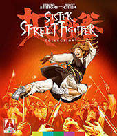 Sister Street Fighter Collection Blu-Ray Cover
