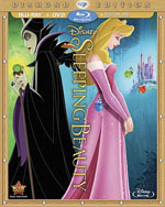 Blu-Ray Cover for Sleeping Beauty Diamond Edition
