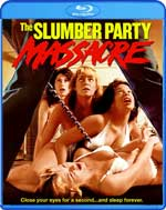 Blu-Ray Cover for Slumber Party Massacre