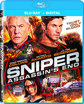 Sniper: Assassin's End Blu-Ray Cover