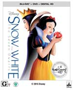 Snow White and the Seven Dwarfs Signature Collection Blu-Ray Cover