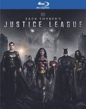 Zack Snyder's Justice League Blu-Ray Cover