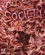Blu-Ray/DVD Cover for Society