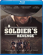 A Soldier's Revenge Blu-Ray Cover