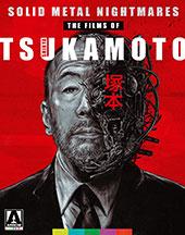 Solid Metal Nightmares: The Films of Shinya Tsukamoto Blu-Ray Cover