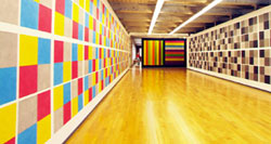 Some of the impressive art found in the documentary on the life of Sol LeWitt