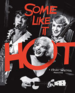 The Criterion Collection Blu-Ray cover for Some Like It Hot