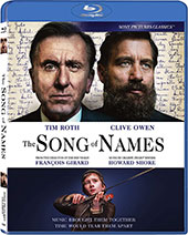 The Song of Names Blu-Ray Cover