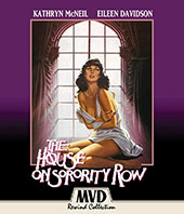 The House on Sorority Row Blu-Ray Cover