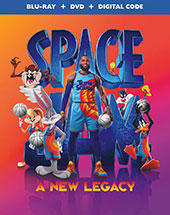 Space Jam: A New Legacy Blu-Ray Cover