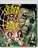 Spider Baby Blu-Ray Cover