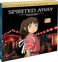 Spirited Away Collector's Edition Blu-Ray Cover