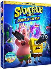 The SpongeBob Movie: Sponge on the Run Blu-Ray Cover