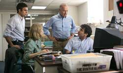 Michael Keaton, Brian d'Arcy James, Mark Ruffalo and Rachel McAdams uncover the truth in the top 2015 drama, Spotlight.